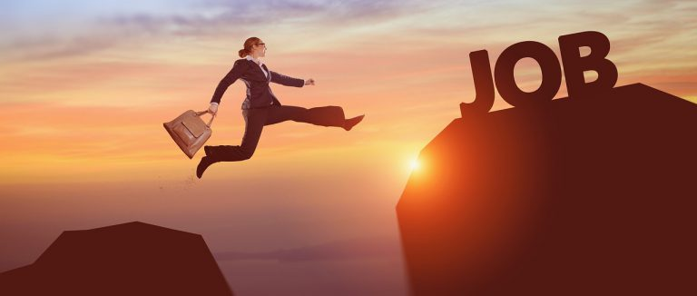 Leaping towards the wrong job